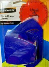 Fiskars HEART OF HEARTS Circle Border Punch Scrapbooking  NIP