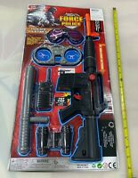 (1) All In 1 Police Officer Role Play Set Toy Toys Uniform Kids Kit Gun NRA NEW