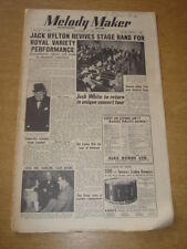 MELODY MAKER 1950 NOVEMBER 18 JACK HYLTON ROYAL VARIETY PERFORMANCE  VIC LEWIS +