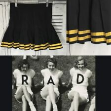 "Cheerleading Uniform Vintage Skirt 24"" Waist"