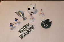 Football cake decoration toppers