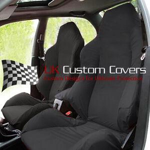 HONDA CIVIC TYPE R FN2 FD2 INTEGRA TAILORED SEAT COVERS X2 – BLACK 284 284