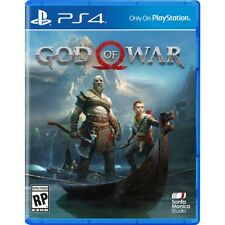 GOD OF WAR (PLAYSTATION 4) PS4 (2018) - BRAND NEW/SEALED - FREE SHIPPING!