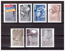 ARMENIA, SCOTT#433-439, MNH, COMPLETE SET, 1992-1993.