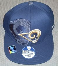 NWT NFL REEBOK 2011 SIDELINE HAT L/XL LOS ANGELES RAMS
