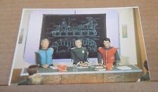 Postcard Captain Scarlet & The mysterons Capt Scarlet & Capt Blue unposted .