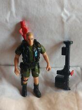Jurassic Park Series 2 Robert Muldoon backpack and Trang Bazooka