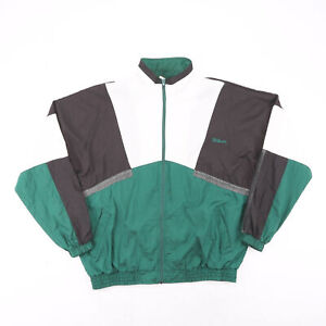Vintage WILSON Green 90s Regular Casual Shell Jacket Mens XL