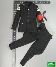 1:6 Scale 3R German MUSIKKORPS 4 Jarman GM631 - Black Tunic & Pants