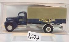 Brekina 1/87 49004 FORD FK 3500 camions pick-up/bâche zippert & Co HH OVP #2607