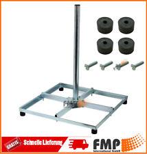 Balkonständer Stahl Holland mit Mast 50x50 48Ø 1m Sat Schüssel Flachdachständer