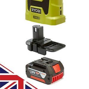Badaptor Bosch Battery Adapter to Ryobi 18v One+ Works with Ryobi 18v One+ Tool