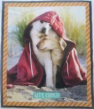 "New listing Labrador Puppy Dog Fabric Quilt Block Digital Image Robert Kaufman 13.25"" x 11"""