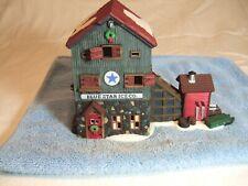 Dept 56. New England Village Series. Blue Star Ice Co. 5647-2 Yr.1993