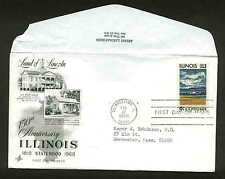 1339 ILLINOIS FDC SHAWNEETOWN, IL ART CRAFT AYERST LABS VARIETY
