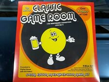 NEW The Best of Classic Game Room Laser Hyper Vision Album 4 Disc Set w Blu Ray