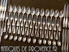 CHRISTOFLE RUBANS Complete Table set 12 Place settings 48pieces MINT Ménagère