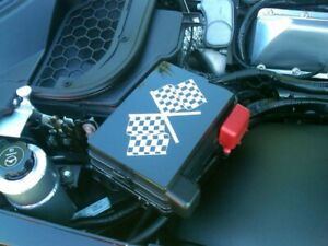 Saturn Sky Pontiac Solstice Opel GT Custom Laser-Etched Colored Fuse Box Cover