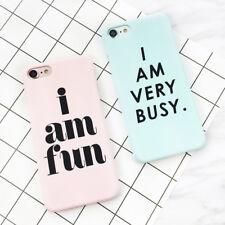 Fundas I am Fun y I am Very Busy. - 2 MODELOS - PARA TODOS LOS MOVILES IPHONE !
