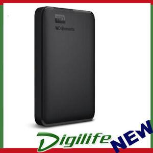 WD Elements 1TB USB 3.0 Portable External Hard Drive WDBUZG0010BBK-WESN