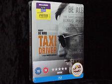 Taxi Driver Steelbook [Blu-ray] Deutsche Tonspur -- Front geprägt -- Neu & OVP