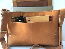 Laptop Bag Genuine Real Leather Shoulder Bag