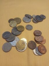 Mixed Coin Lot 30 coins france nederland canada cyprus turkey lira cent francs