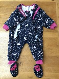 jojo maman bebe sleepsuit 18-24 Months 2.5tog