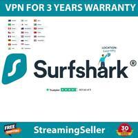 SURFSHARK VPN   PREMIUM ACC   10 DEVICES   AUTO RENEW   FAST SHIPPING