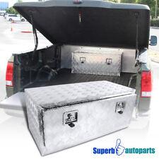 "36""x18""x16"" Truck Under Bed Tool Box Underbody Storage Trailer Pickup w/Lock"
