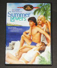 Summer Lovers (DVD, 1982) Peter Gallagher, Daryl Hannah, Valerie Quennessen RARE