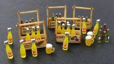 Plus Model Beery and lemonade crates Limonadenflaschen mit Träger 1:35 Art. 422