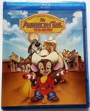NEW SEALED AN AMERICAN TAIL: FIEVEL GOES WEST BLU RAY WALMART EXCLUSIVE FREE SHI