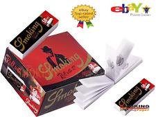Smoking Deluxe Medium Tips Filtri In Carta Filtro Non Sbiancata Da 50 Blocchetti
