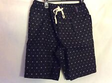 NWT Kenneth Cole Mens Large Shorts Purple Dot
