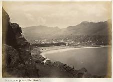 Madeira, Machico vintage albumen print Tirage albuminé  20x25  Circa 1870
