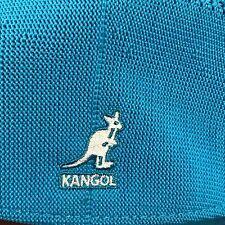 AUTHENTIC  Summer Kangol Tropic 504 Ventair Ivy Cap ~ Arctic Blue ~ XL  ~ NEW