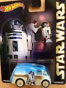 HOT WHEELS STAR WARS R2-D2 QUICK D-LIVERY TRUCK