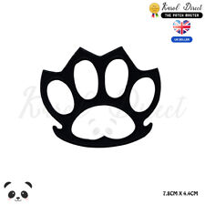 Knuckle Duster Embroidered Iron On Sew On PatchBadge For Clothes Bags Shoes etc