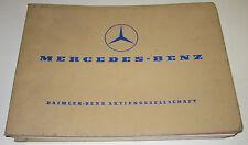 Ersatzteilkatalog Mercedes LKW Typ L LK LS LB 2624 6x4 LA LAK Fahrgestell Hauber