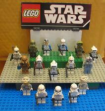 "STAR WARS LEGO  LOT  MINIFIGURE--MINI FIG ""  LOT OF  16  TROOPERS --STORM  """