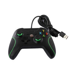 USB Wired Game Remote Controller Gamepad Joystick for Microsoft Xbox One PC E&F