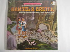 Walt Disney Studio Hansel And Gretel Vinyl LP New Factory Sealed Vintage 1969