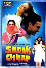 SADAK CHHAP - JACKIE SHROOF - AMRISH PURI - NEW RARE BOLLYWOOD DVD -ENGLISH SUBS