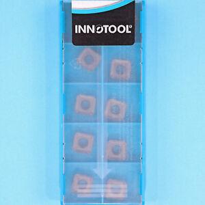 10 INNOTOOL SEKT 09T3AFN- Grade IN2005 CNC Milling Coated Carbide Inserts