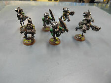 Games Workshop Warhammer 40k  painted Orc's with  jump packs