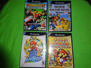 Empty Replacement Case! Mario Kart: Double Dash Sunshine Melee Nintendo GameCube