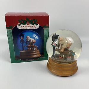"Breckenridge Holidays ""Santa's Workshop"" Musical Lighted Snow Globe"