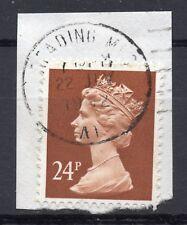 GB = QE2 Postmark - `READING MLO / (A1)` 1992 Single Ring cancel (wbc)