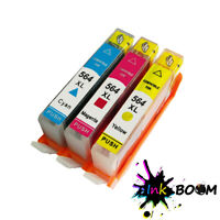 3 Ink Cartridge replace for HP 564XL Photosmart 5510 6510 6520 7510 7520 7525